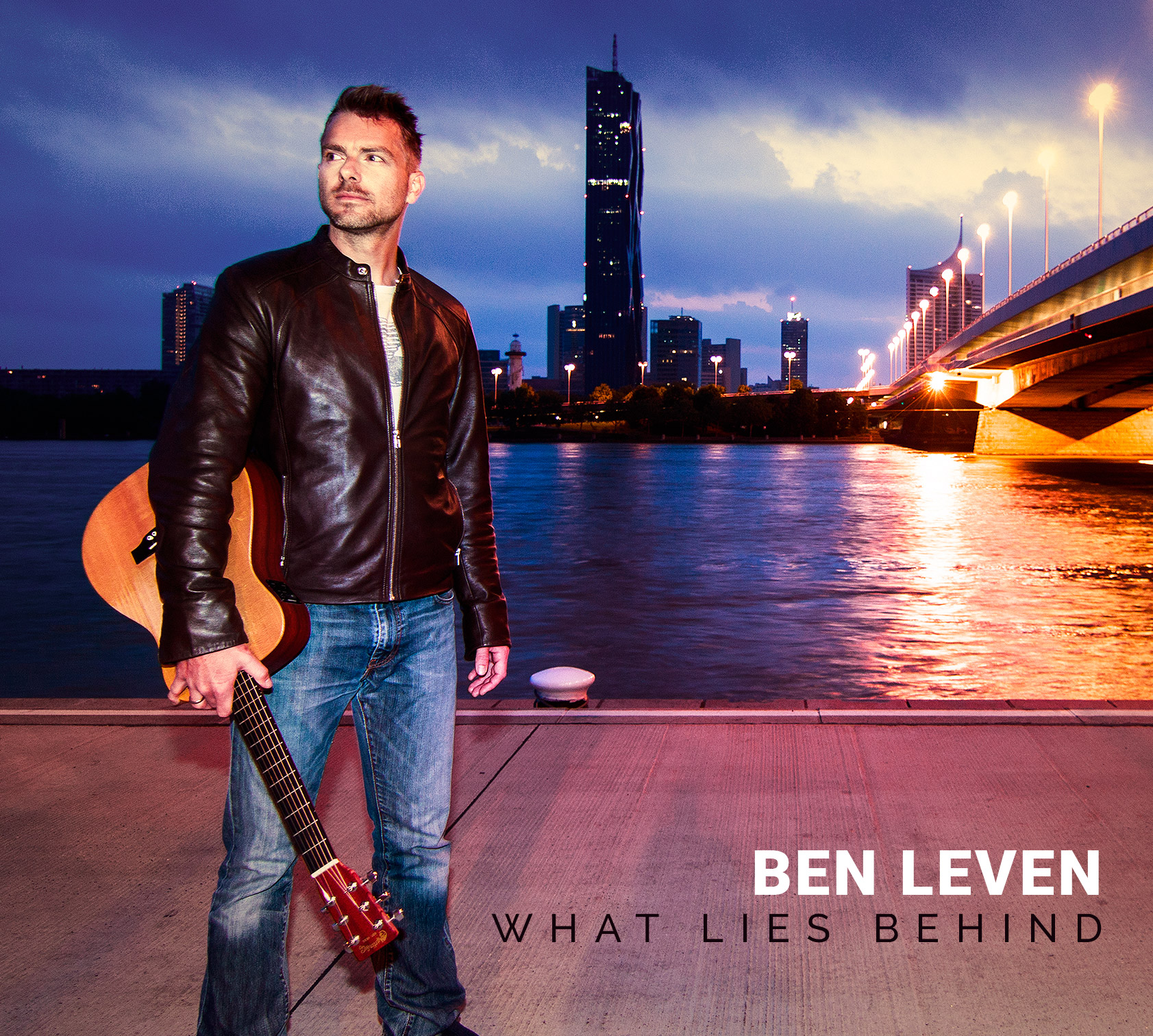 Ben Leven »What Lies Behind« Album Cover