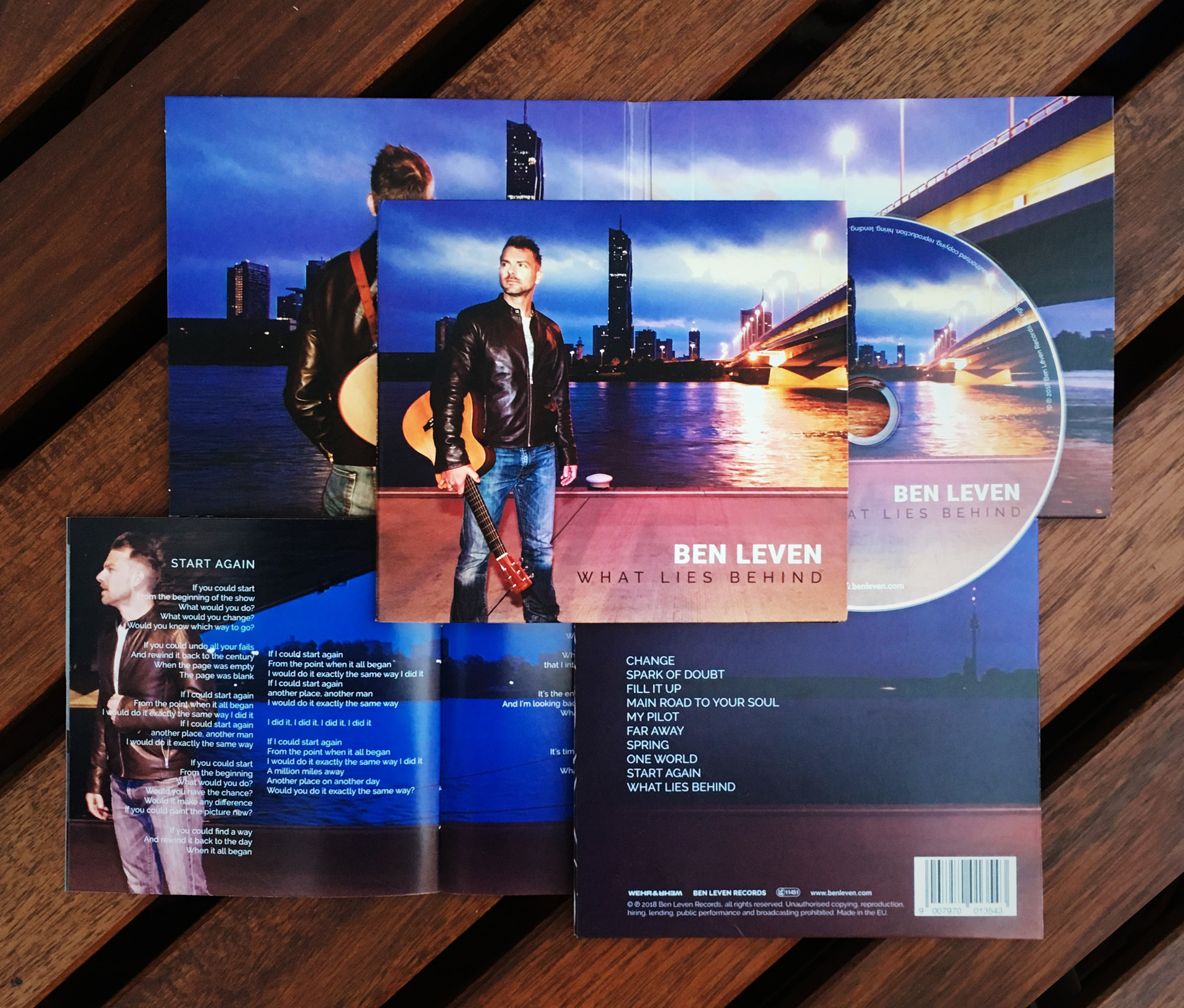 Ben Leven - What Lies Behind CD